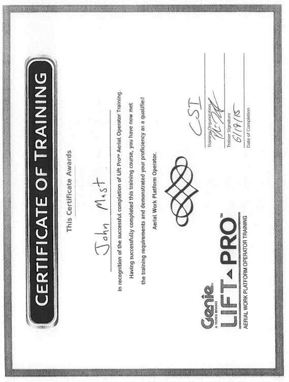 Certifications – Page 24 – Construction Specialties, Inc